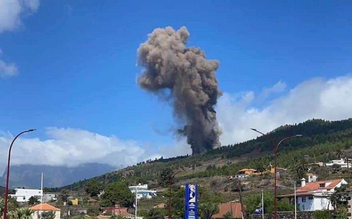 Alerta en España: el volcán de La Palma entró en erupción