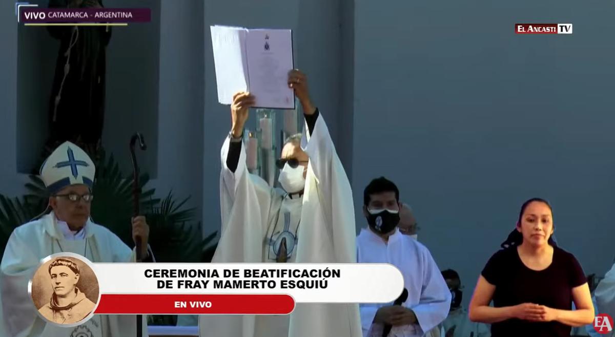 Beatificaron a Fray Mamerto Esquiú en Catamarca