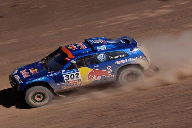 El príncipe Al Attiyah dominó la especial y es el nuevo líder de la general del Dakar 2011