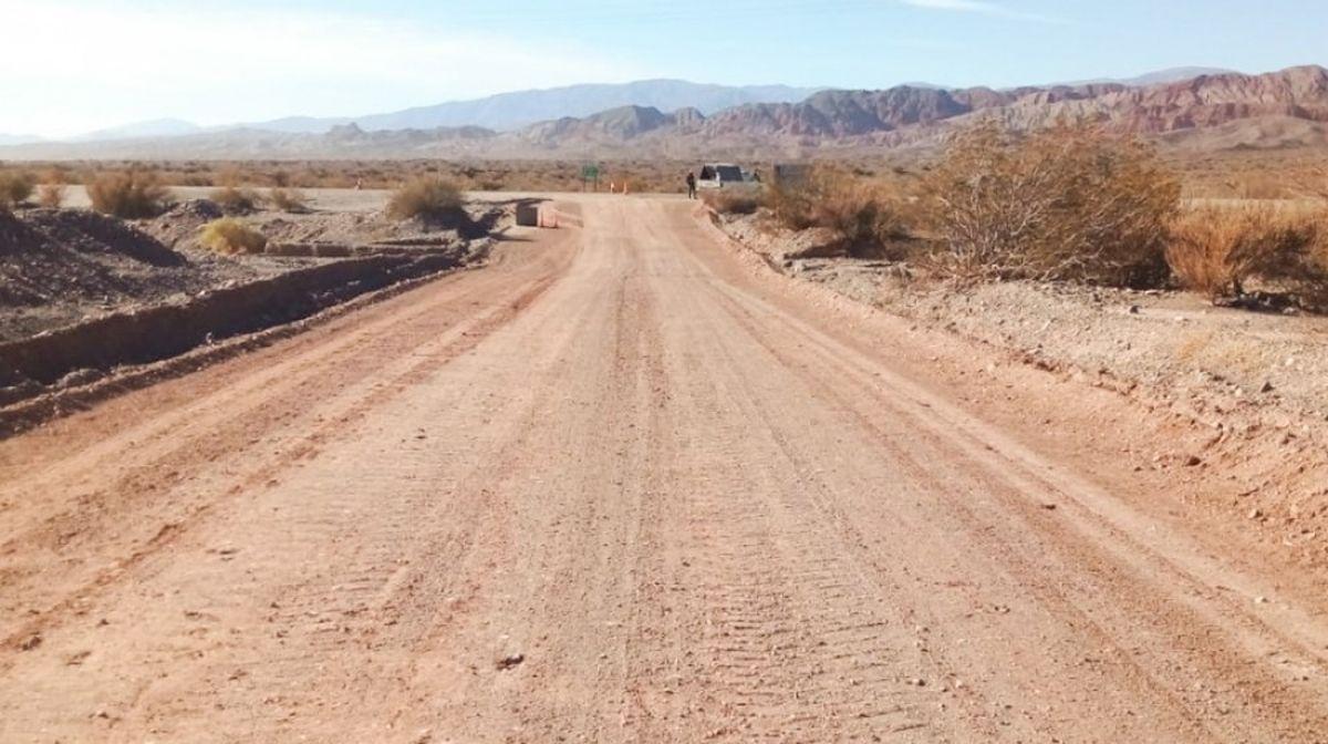 Finalizó el mantenimiento de la Ruta Provincial N°400