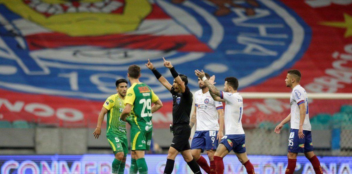 Defensa y Justicia le ganó 3 a 2 a Bahía de visitante.