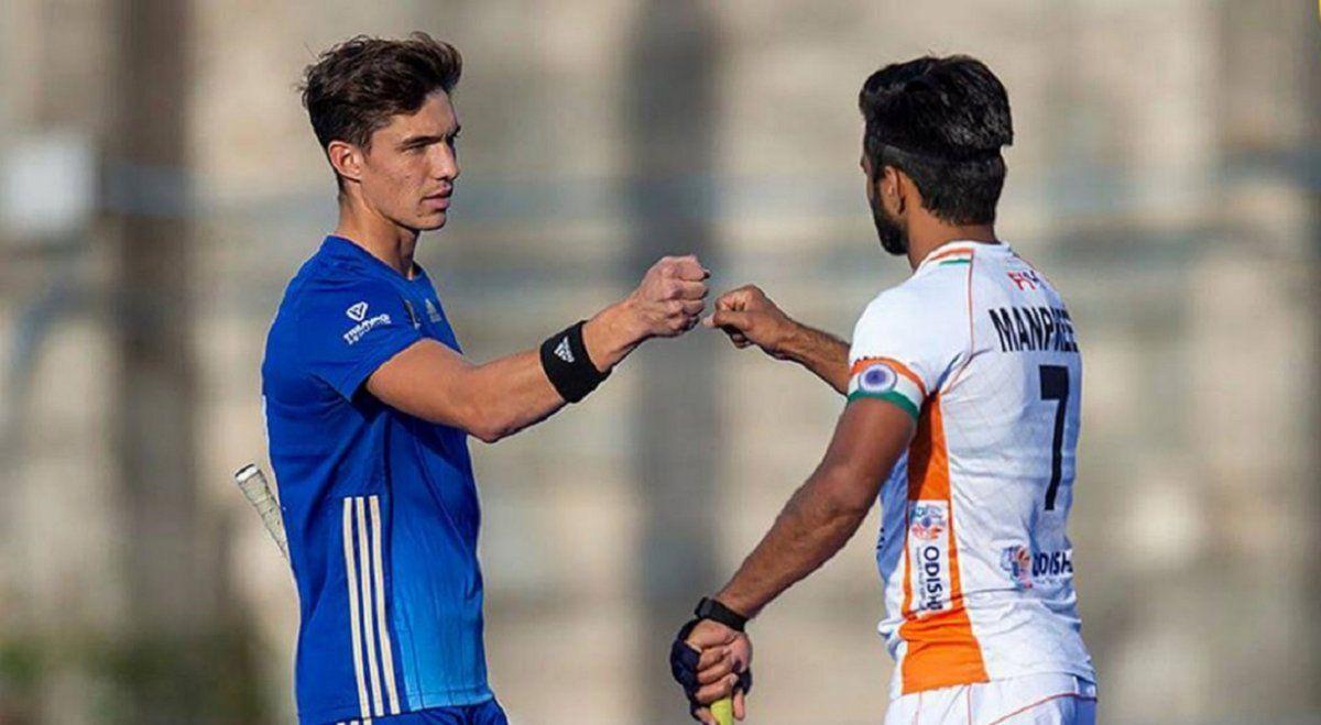 Los Leones ganaron por la mínima en su amistoso frente a India.
