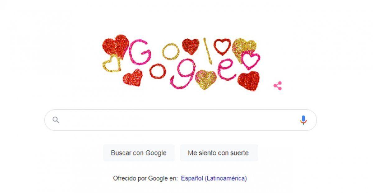 Google celebra el amor: Por qué San Valentín