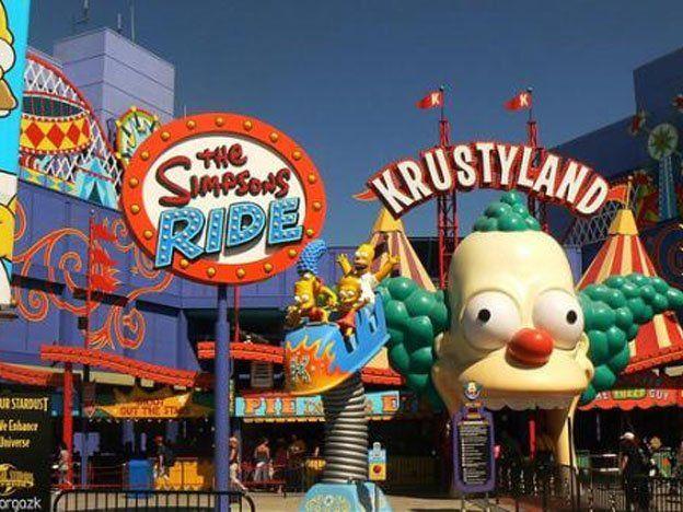 El Parque Temático de Los Simpsons abrió sus puertas en Orlando