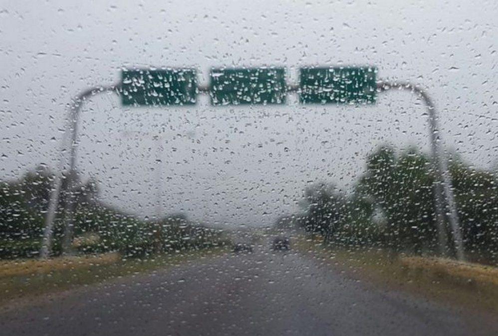 Tal como estaba pronosticado, llueve en gran parte de San Juan