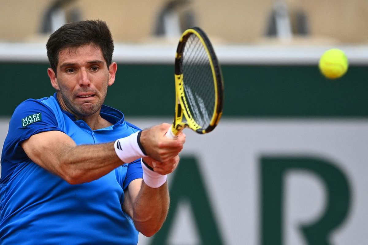 El argentino Delbonis quedó afuera del Roland Garros