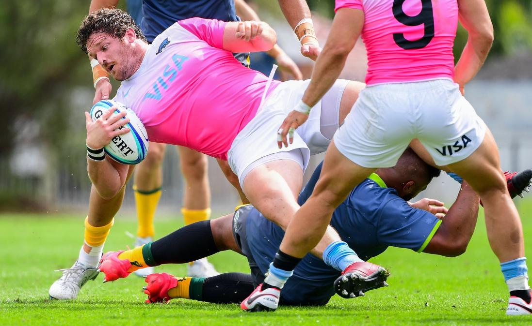 Los Pumas dieron vuelta el resultado y vencieron a Australia Rugby Selection