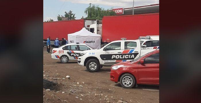 Muerte del camionero en Sarmiento: las cámaras de seguridad, clave en la investigación
