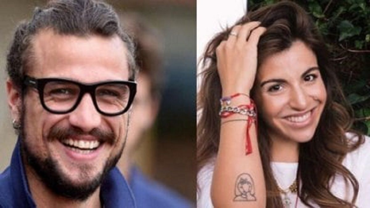 Gianinna y Daniel Osvaldo homenajearon a Maradona: Te amo