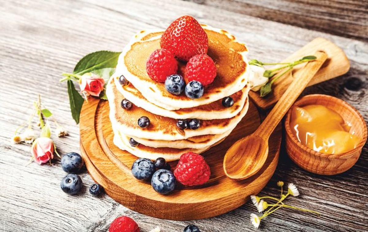 Cociná hot cakes saludables para disfrutar en cualquier momento
