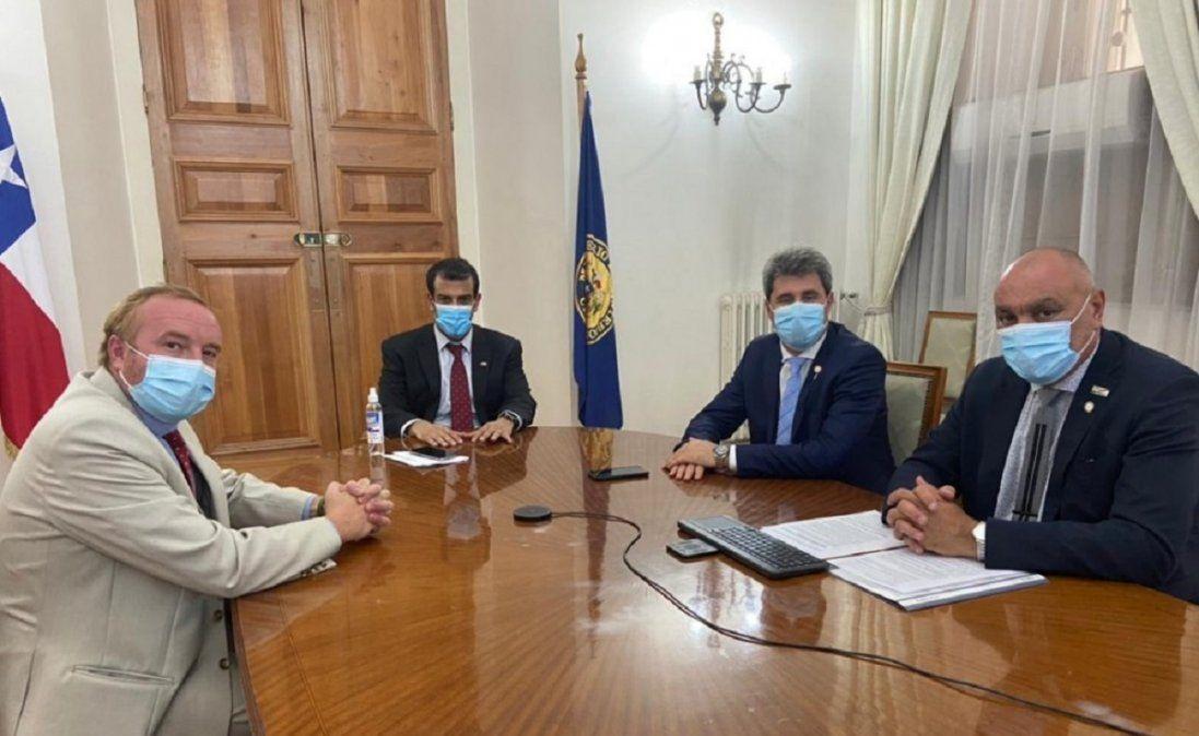 Uñac acordó una reunión del EBITAN: sería en marzo