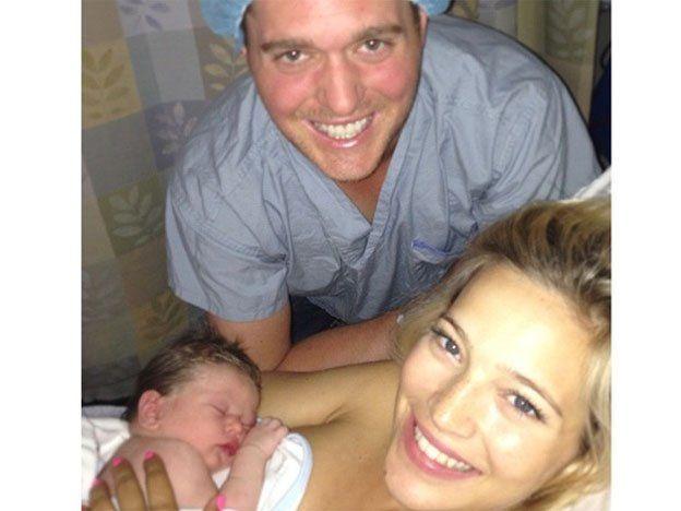 Nació el hijo de Luisana Lopilato y Michael Bublé