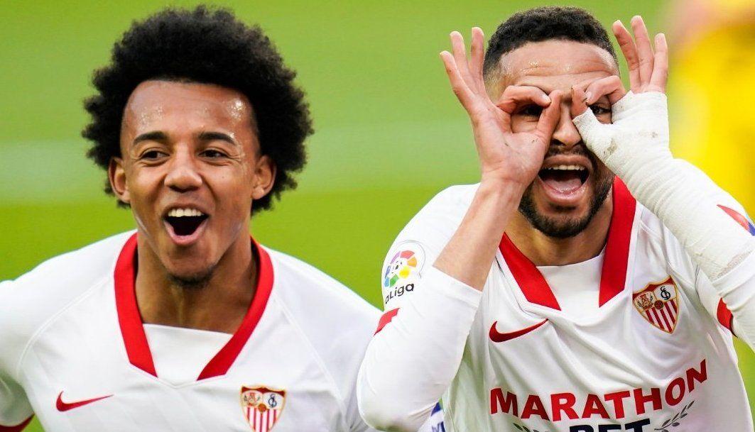 Sevilla ganó y trepó al tercer puesto de la tabla de posiciones.