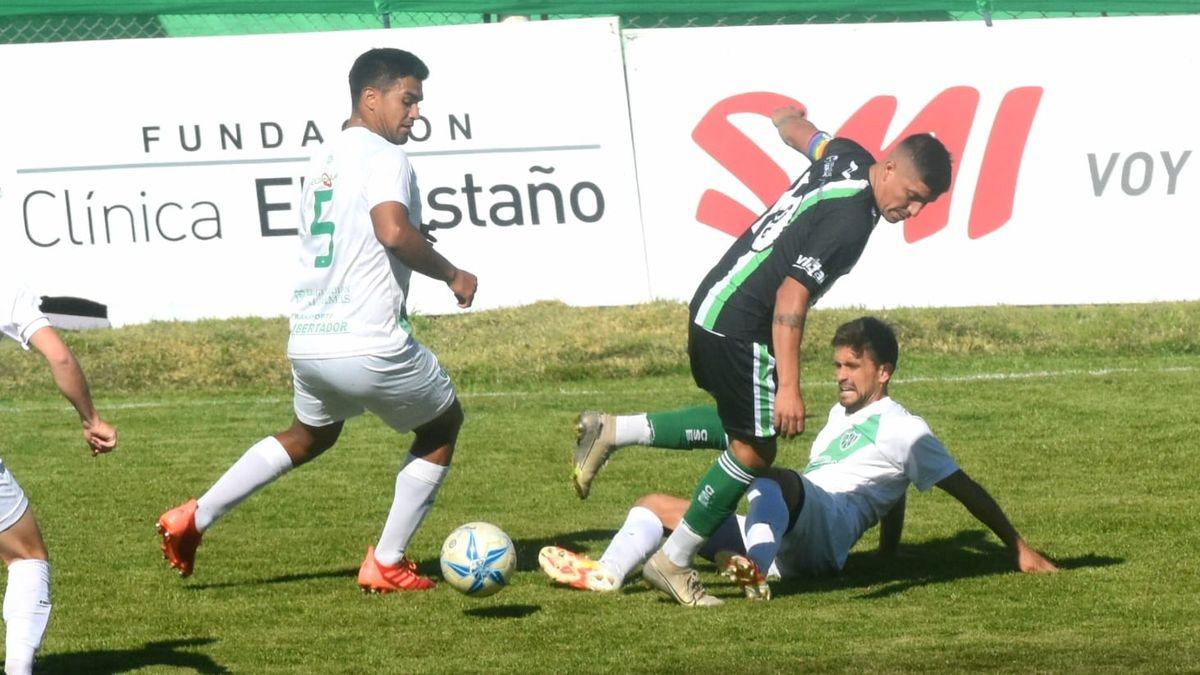 Desamparados consiguió un agónico empate ante Estudiantes SL