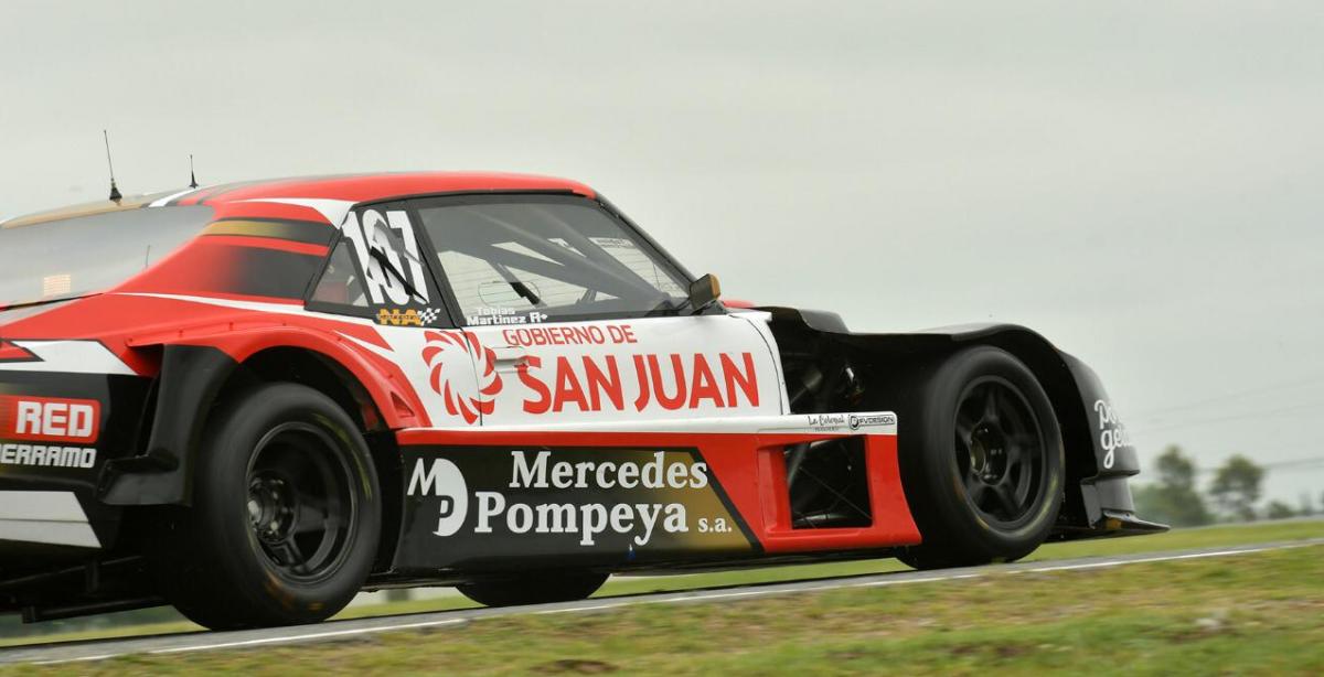 Tobías Martínez terminó segundo en los entrenamientos del viernes