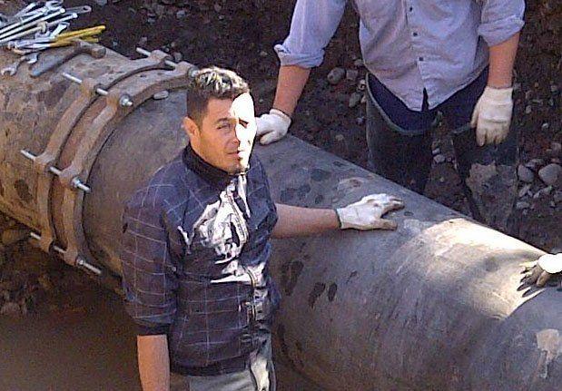 En forma paulatina el servicio de agua se reestablece en algunas zonas de Rivadavia y Capital