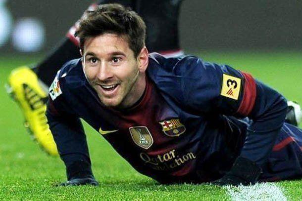 Messi es el mejor goleador mundial de 2012