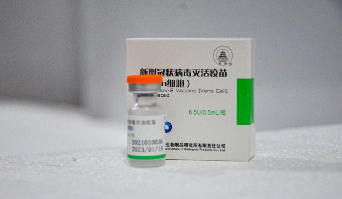 La próxima semana llegan un millón de vacunas Sinopharm