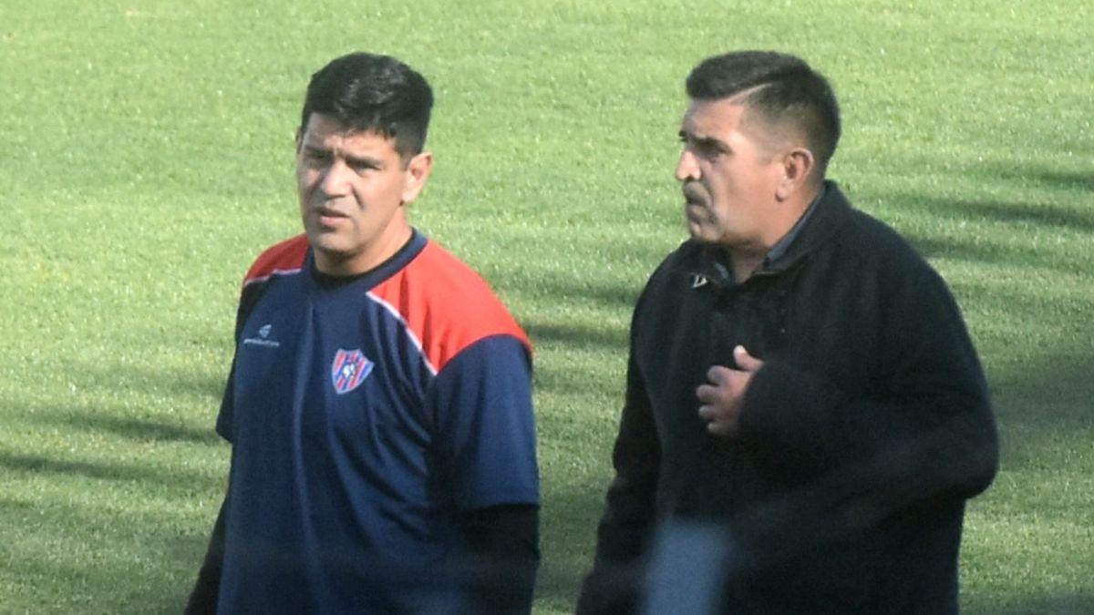 Edgardo Herrera y sube en las posiciones del Federal A. Fotos: Adrián Carrizo.