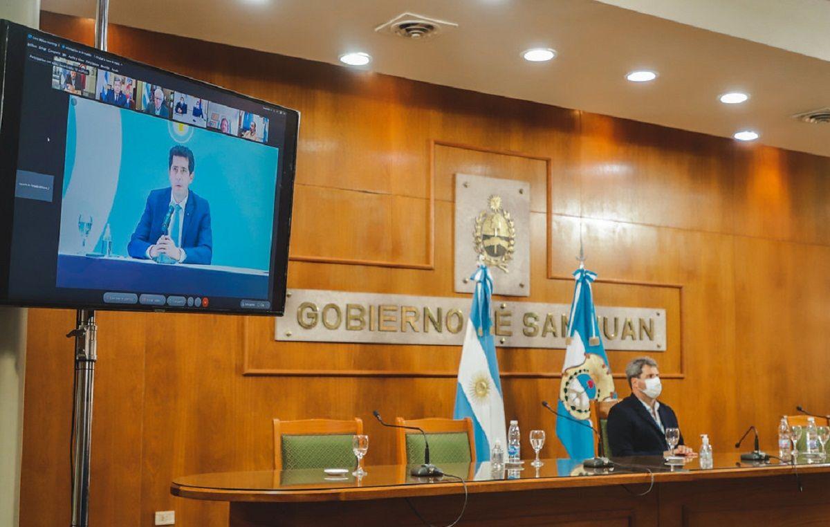 Uñac participó del lanzamiento del Programa Federal de Preinversión