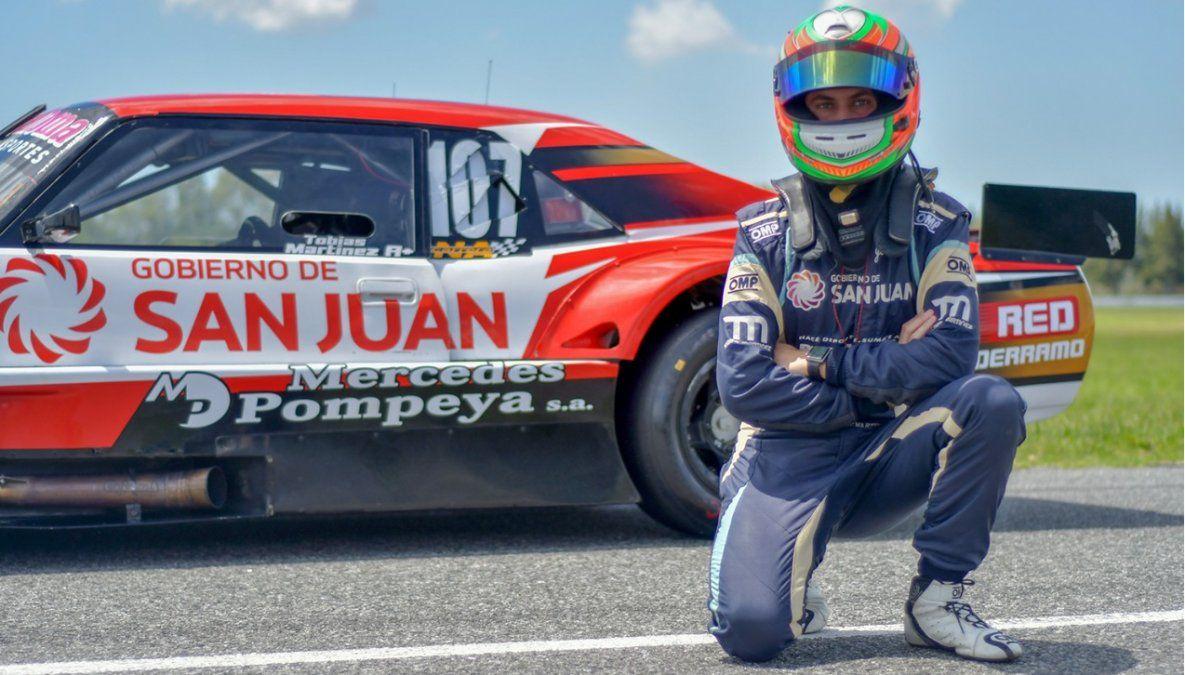 Tobías Martínez está listo para la 3a fecha del TC Mouras.