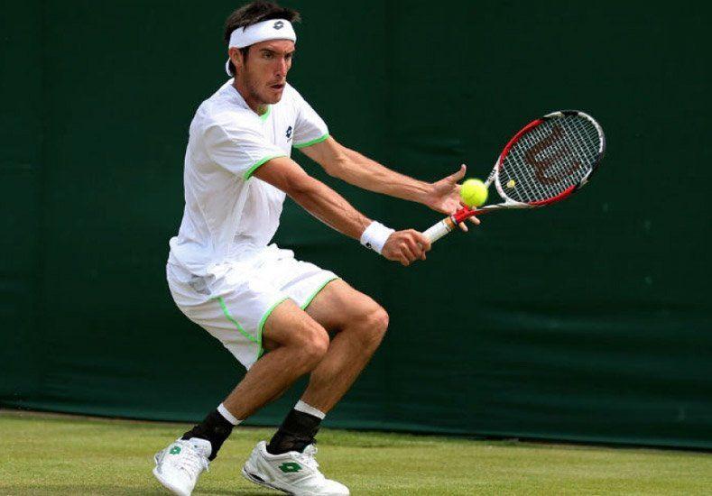 Avanza en césped: Mayer pasó a cuartos de final en el ATP de Nottingham