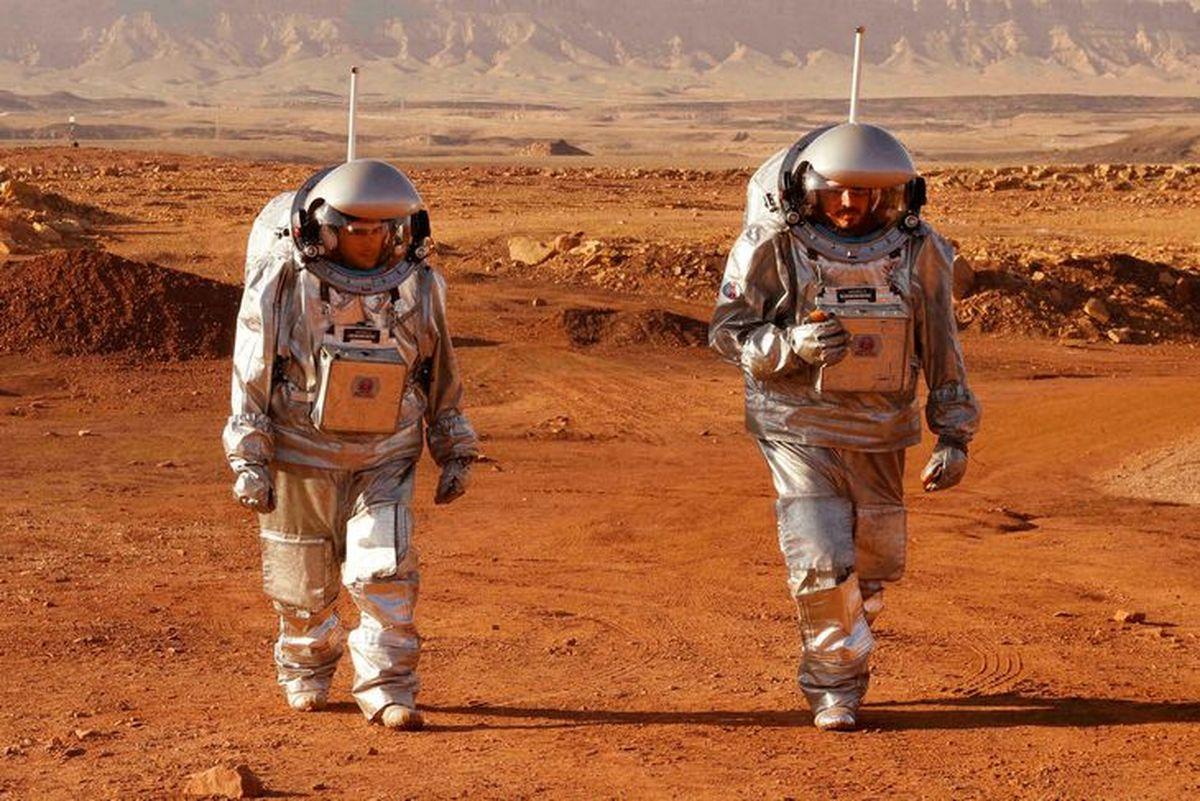 Un grupo de astronautas simula la vida en Marte en Israel