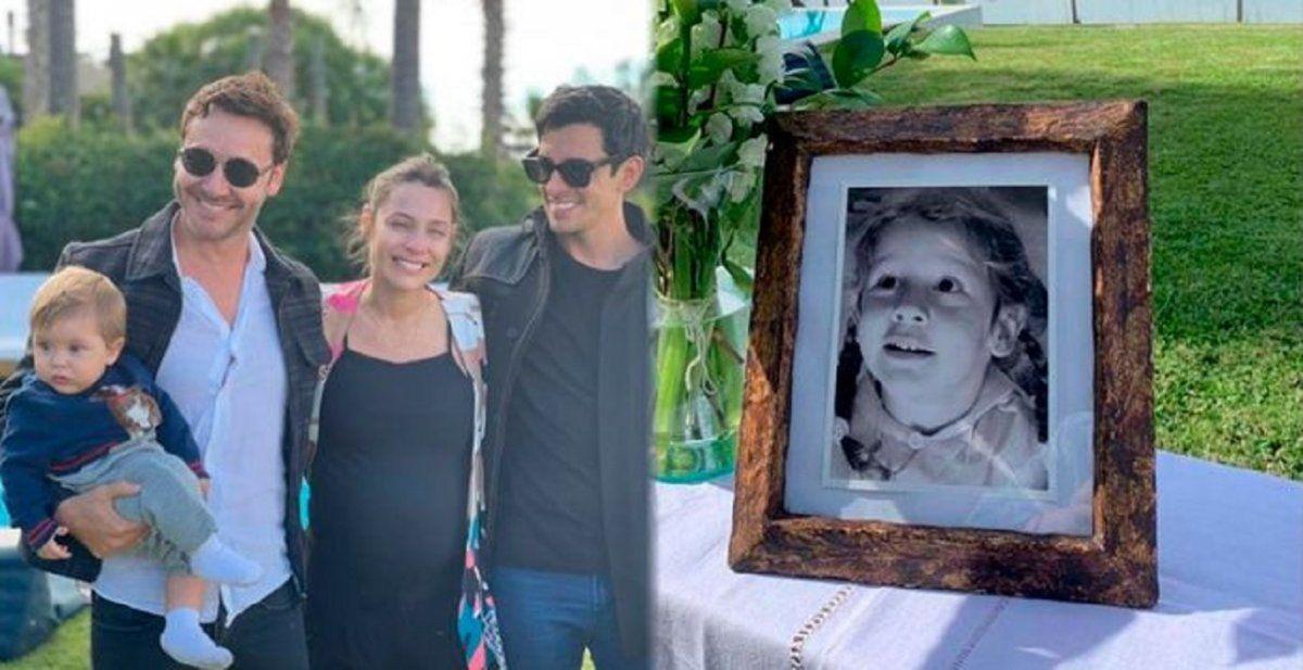 Pampita y Vicuña homenajearon a Blanca en una emotiva ceremonia familiar