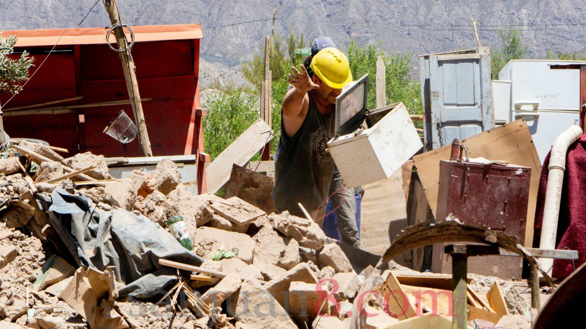 A dos semanas del terremoto detallaron acciones y presupuesto