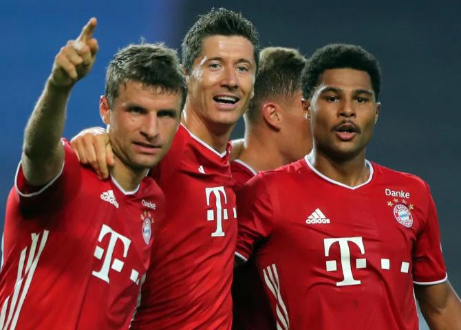 Bayern no perdonó a Lyon y definirá la Champions ante PSG