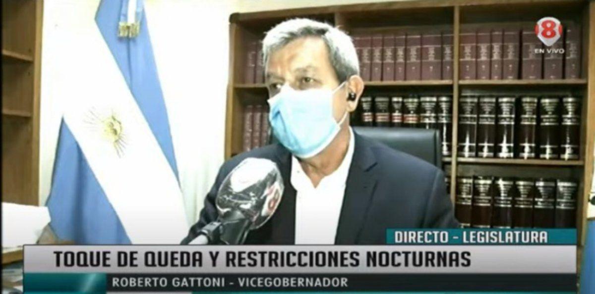 Gattoni: No creo que nos alcance el decreto nacional