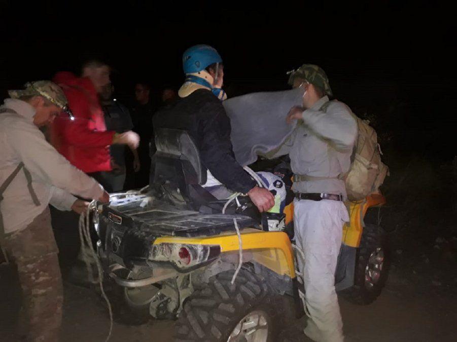 Implementaron un importante operativo para rescatar a un endurista