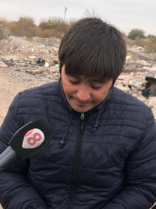 Video: el esposo de la mujer que es buscada contó que la siguió hasta un descampado en Villicum