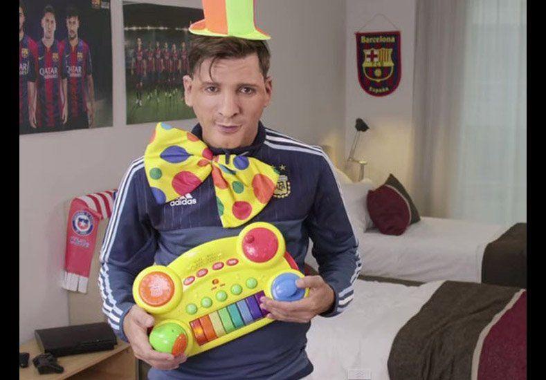 Martín Bossi imitió a Messi y lo hizo enviar saludos en el Día del Padre