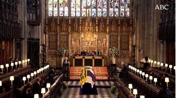 En vivo: el imponente funeral de Felipe de Edimburgo