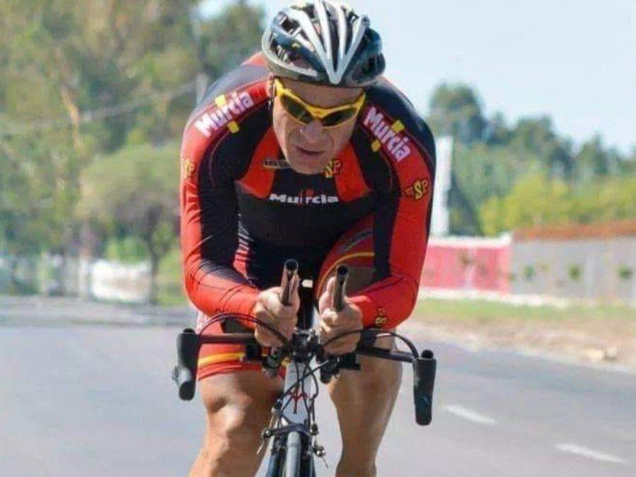 Dolor por la muerte de un reconocido ciclista jachallero: Tati Mura.
