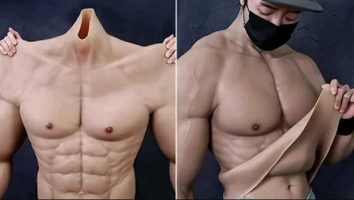 Crearon trajes que te hacen ver musculoso.
