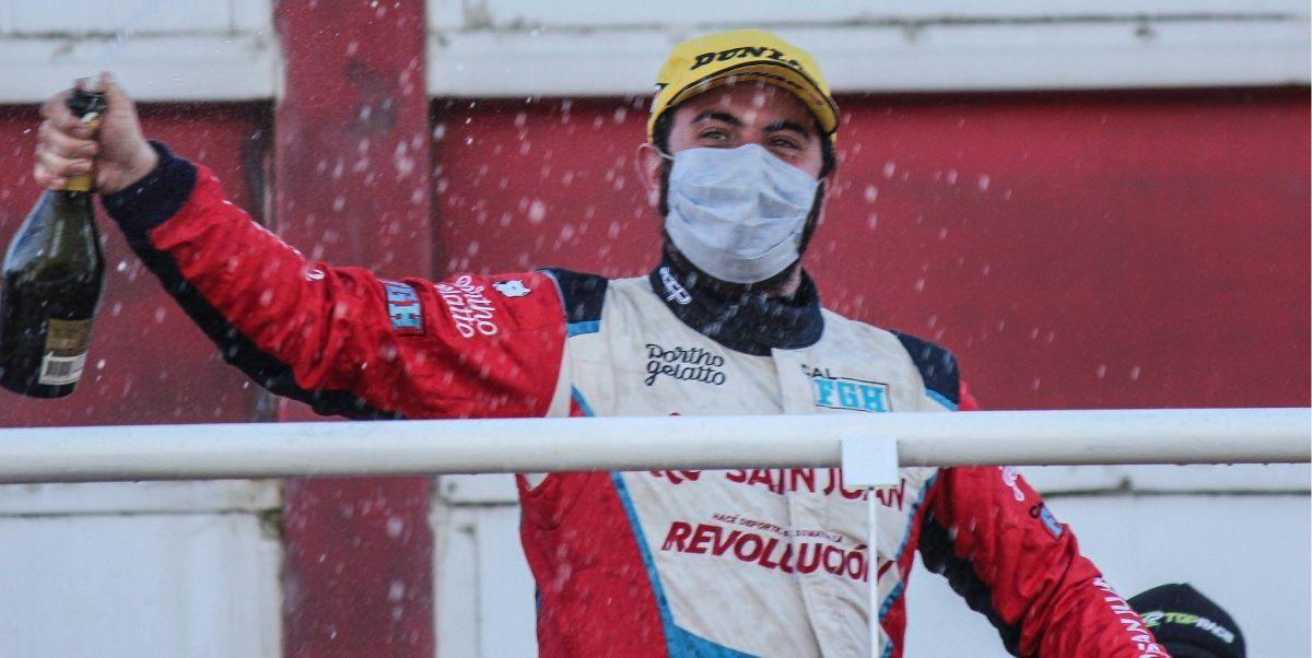 Fabricio Persia ganó la segunda fecha del Top Race. Foto: toprace.com.ar