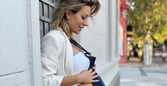 Noelia Marzol relató su parto con una emotiva secuencia fotográfica