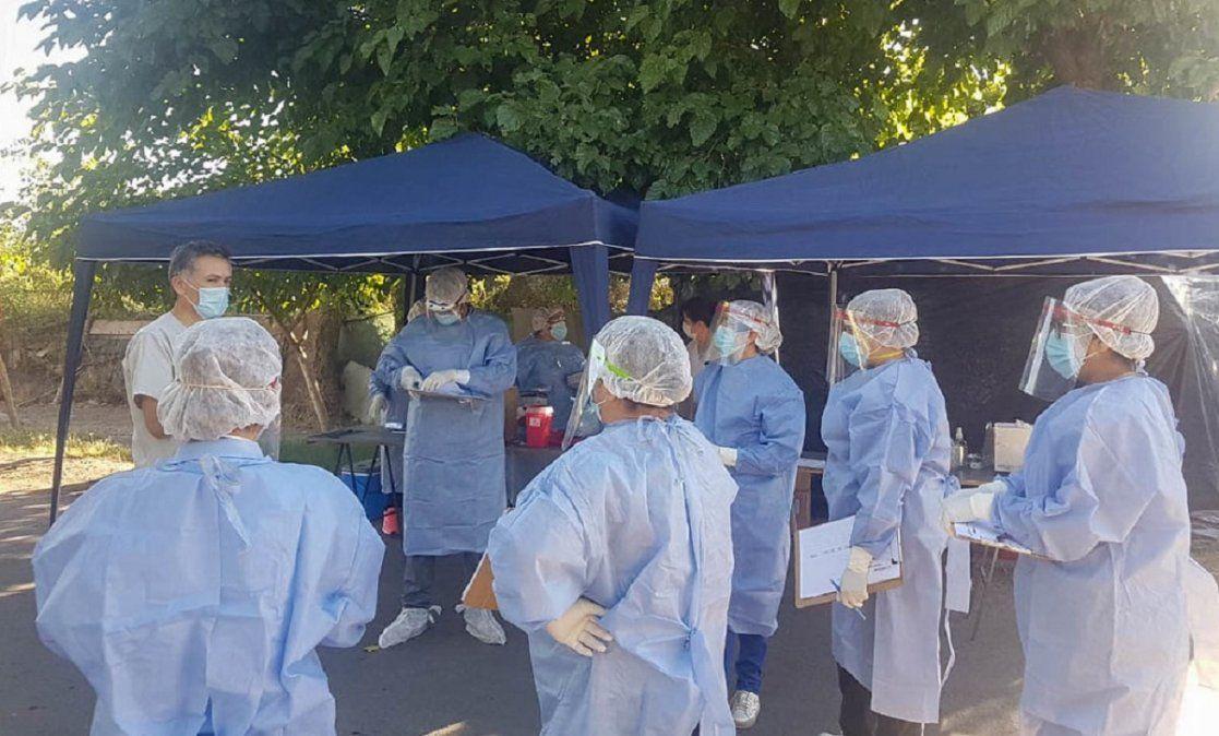 Covid-19: Salud realizó rastrillajes en una zona de Chimbas