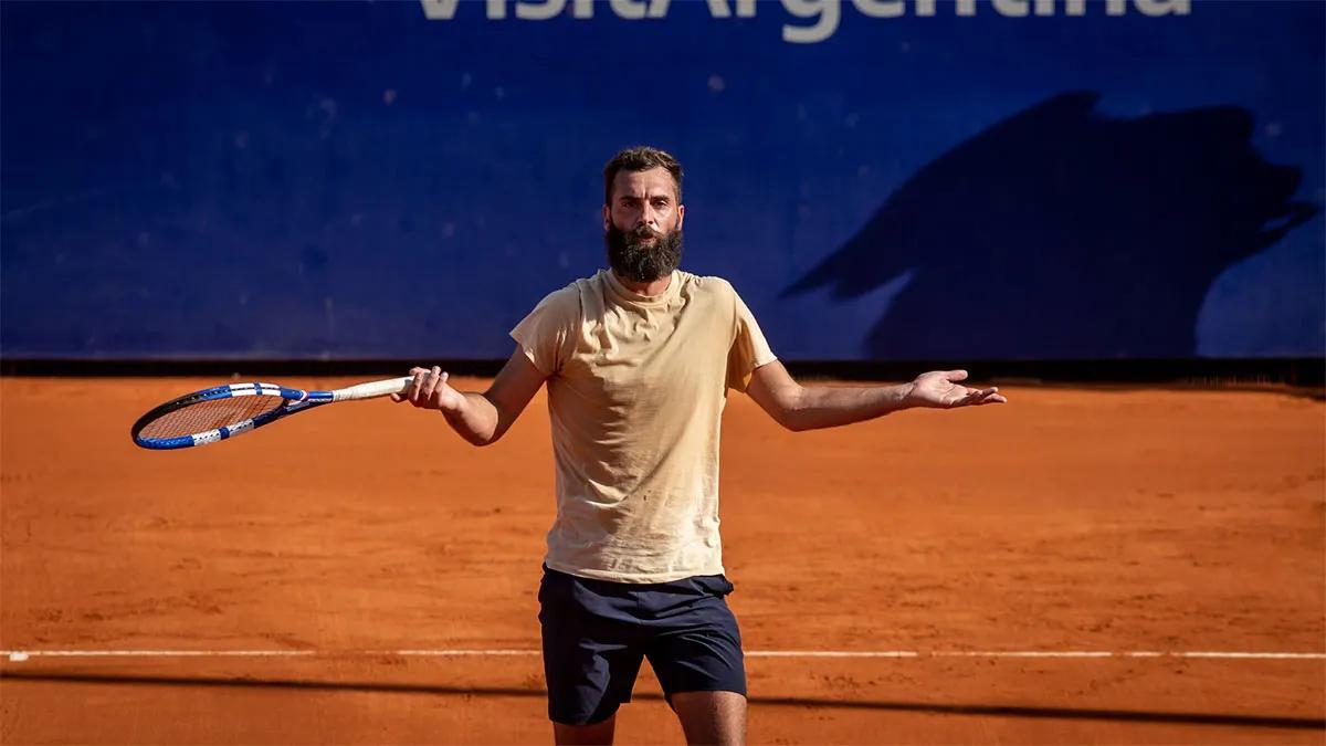 Benoit Paire mostró su peor versión en el Argentina Open.