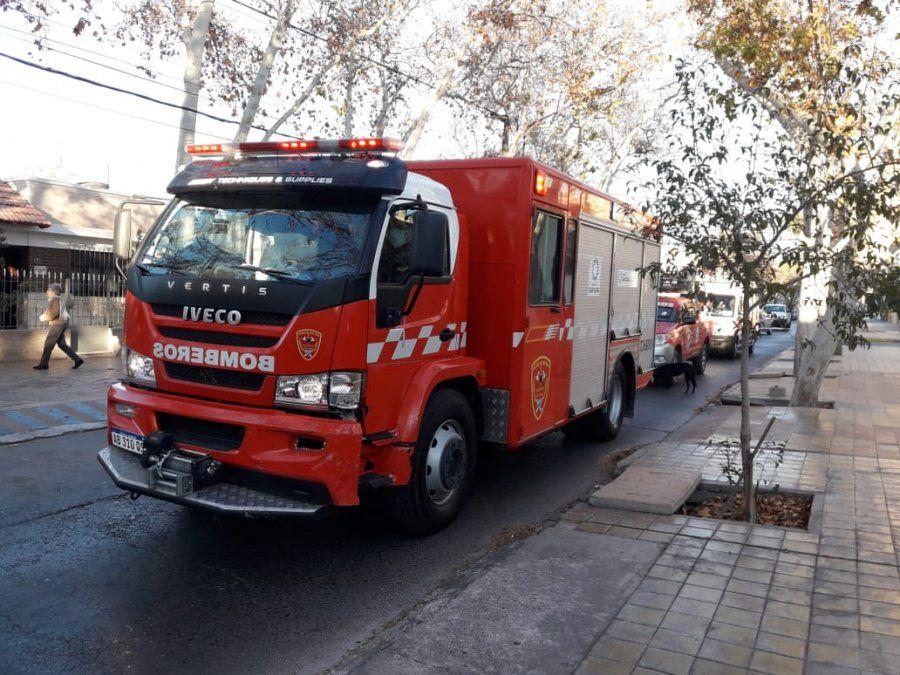 Un principio de incendio en una residencia para adultos terminó con un hombre en el hospital