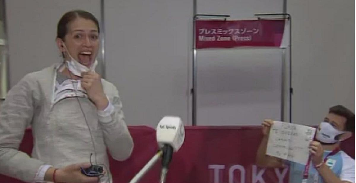 Bélen Pérez Maurice fue sorprendida y le pidieron casamiento en Tokio