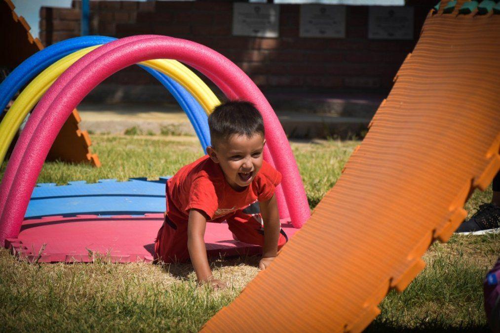 Contienen a más de 80 niños en Jardines de Cosecha de Jáchal