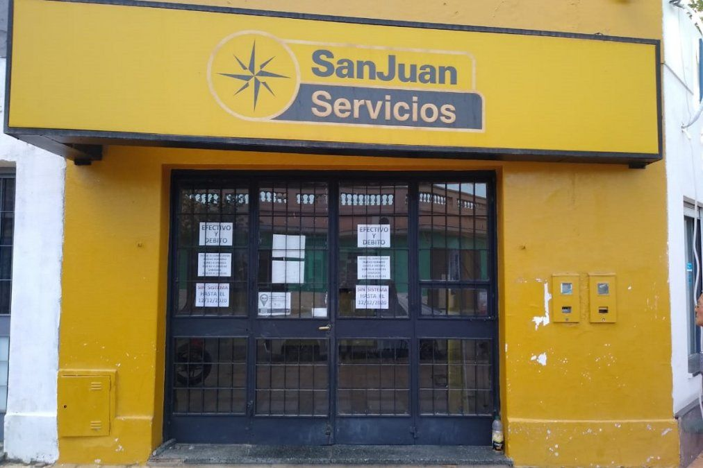 Detuvieron a una persona que sería uno de los autores del robo a San Juan Servicios.