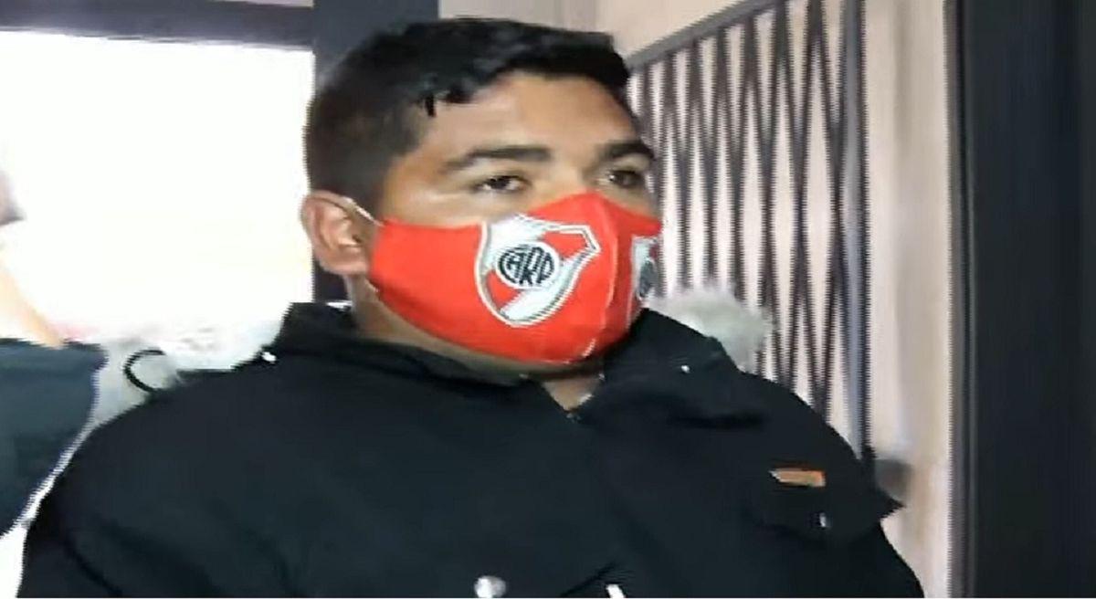 Guajardo ingresó en silencio a Tribunales y los familiares de Brenda lo abuchearon
