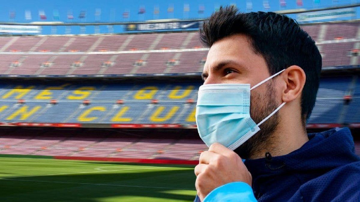 El Kun Agüero está en negociaciones con el Bacelona