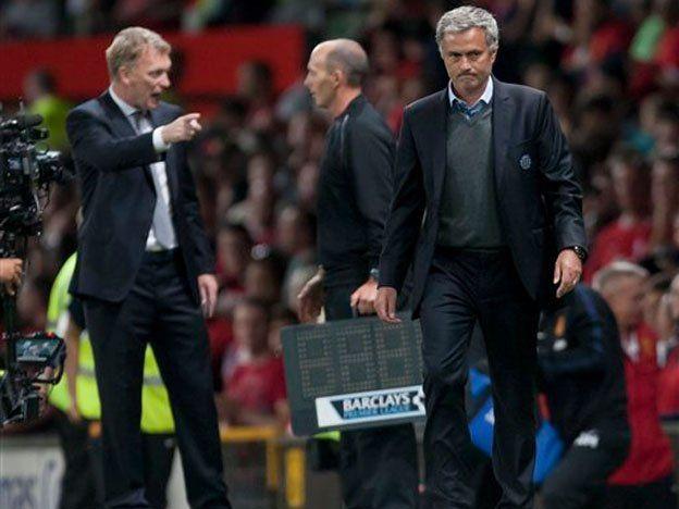 El Chelsea de Mourinho empató sin goles con el Manchester United