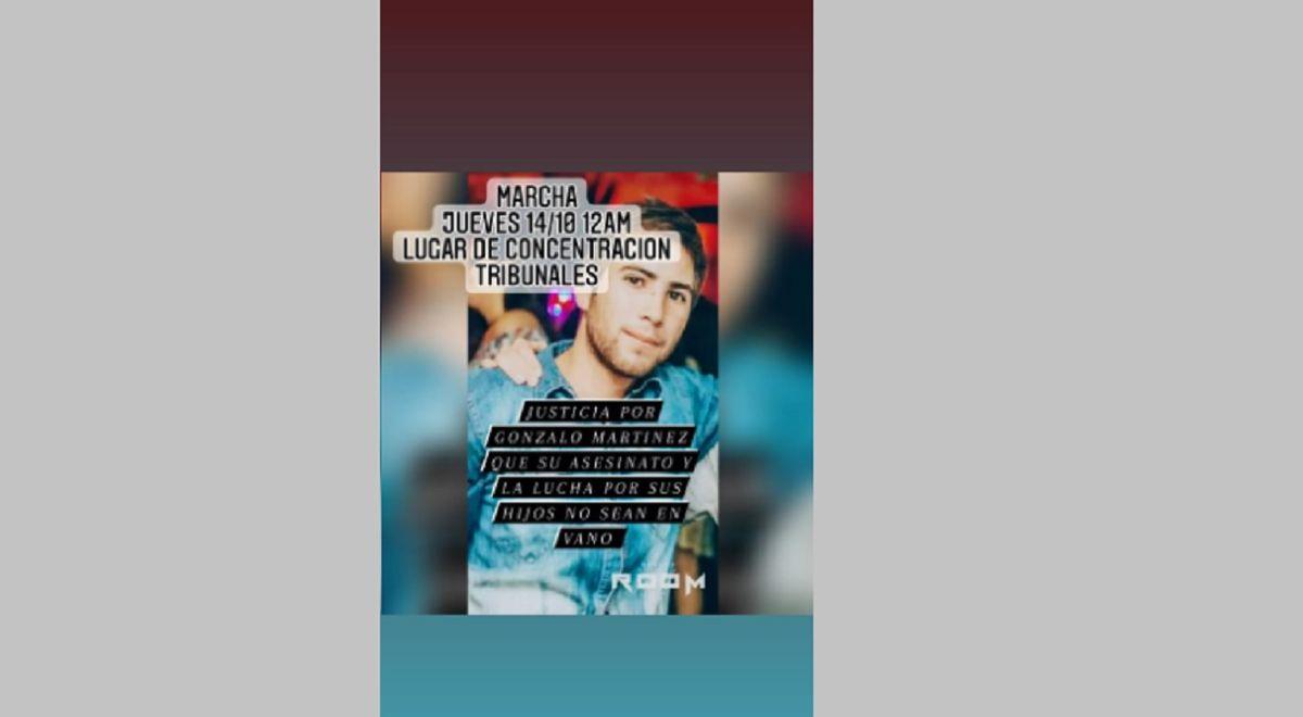 Marcharán para pedir justicia por la muerte de Gonzalo Martínez