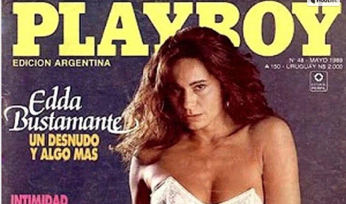 Edda Bustamante recordó cuando fue tapa de Playboy